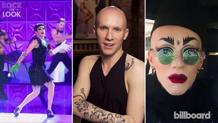 Rock the Look: Sasha Velour of Ru Paul's Drag Race Recreates This Pop-Punk Icon's Look