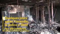 Des images de la tour Grenfell quelques jours après l'incendie