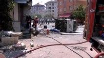 Maltepe'de İş Yerinde Patlama: 1 Yaralı
