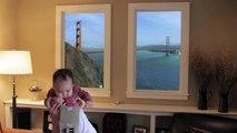 Ces fausses fenêtres s'adaptent à votre regard !