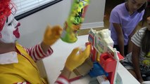 McDonalds Drive Thru Prank w/ Ronald McDonald Kids Happy Meal Toys To See Pretend Play