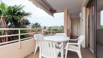 Locations Vacances à Juan-les-Pins 06160 - Appartement 3 pièces de de 88m2