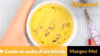 Réalisez un cookie en moins d'une minute !