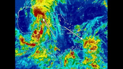 Tropical Storm Bret and maybe Cindy, too