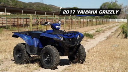 2017 Yamaha Grizzly 700 4x4 EPS ATV Review