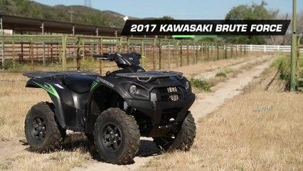 2017 Kawasaki Brute Force 750 4x4i EPS ATV Review