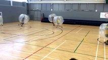 Bubble Football : Jouer au foot dans une bulle