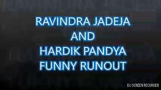 Jadeja And Hardik Pandya Runout mess pandya abuses Jadeja