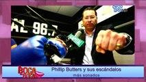 Phillip Butters y sus escándalos más sonados