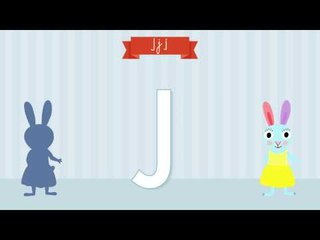 Les lettres de l'alphabet - Apprendre à écrire le J avec Pinpin et Lili