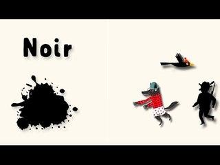 Apprendre les couleurs avec Pinpin et Lili - Le noir