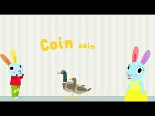 Le canard - Découvre les animaux de la ferme avec Pinpin et Lili