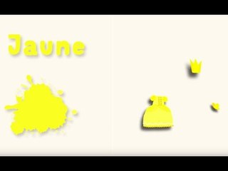 Apprendre les couleurs avec Pinpin et Lili - Le jaune
