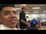 US olympian Karlos Balderas at WBC greenbelt challenge - EsNews Boxing