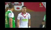 Grosse colère de Hamia contre Badou Zaki en pleine match
