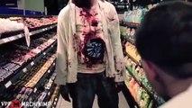 Et mort et et ascenseur drôle Nouveau farce farces effrayant le le le le la vidéos en marchant zombi