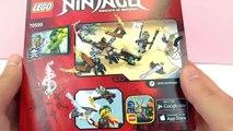 LEGO NINJAGO 70599 COLE ILE EJDERHA Oyuncak Seti Türkçe - Unboxing - Benimle Oyna Lego