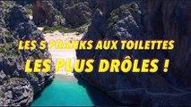LES 5 PRANKS AUX TOILETTES LES PLUS DROLES !!! (Top 5 Pranks)