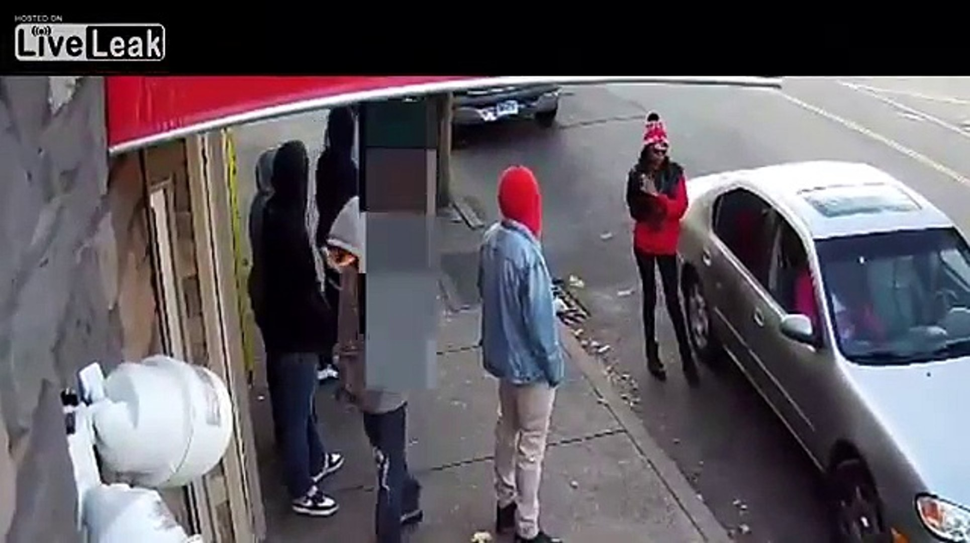 LiveLeak - Man Shot In Front Of Security Camera