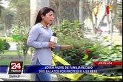 Los Olivos: joven padre recibe dos balazos por proteger a su bebé