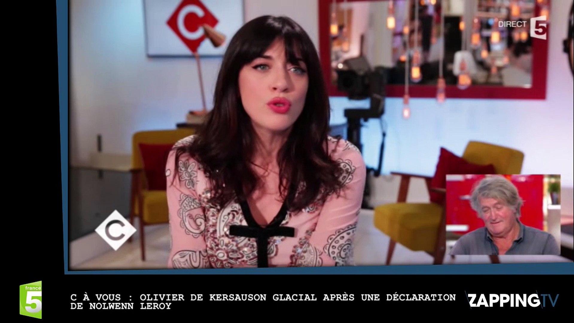 Nolwenn Leroy Olivier De Kersauson La Rembarre Violemment Dans C A Vous Video Dailymotion