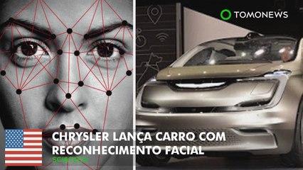Chrysler lança carro com tecnologia de reconhecimento facial