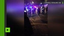 La police anti-émeute met fin à une violente bagarre à Londres