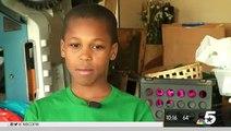 Cet enfant de 10 ans a inventé un appareil pour sauver les enfants oubliés dans les voitures au soleil
