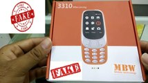 Fake Nokia 3310 (Fake Copy) Unboxing. Available In Dubai market for500 INR