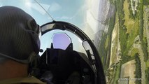 La démonstration du Rafale vue du cockpit - Dassault Aviation