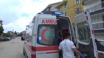 Metal Levhalar Elektrik Tellerine Takılınca, Elektrik Akımına Kapıldı: 1 İşçi Ağır Yaralı