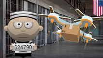 Prison drone delivery: Drones keep dropping off goodies to inmates behind bars - TomoNews