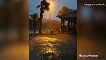 Tropical Storm Cindy brings rough surf, strong winds and flooding to the Gulf Coast