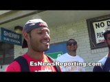 kell brook got into boxing becuase of bruce lee - EsNews boxing