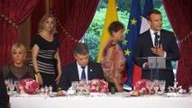 Dîner officiel avec M. Juan Manuel SANTOS, Président de la République de Colombie.