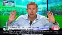 Quand Gilbert Brisbois se retrouve seul contre tous suite à son avis sur l'Allemagne en Coupe des Confédérations