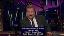 James Corden Sends Trump 'Philadelphia' Letters | THR News