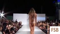 Fashion Swimwear. Los Angeles Swim Week Spring 2016.Sexy girls show.