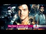 Han Solo se queda sin director | Imagen Noticias con Yuriria Sierra