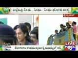 Silver Winner Sindhu Welcomed By Telangana Government