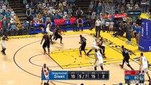 NBA 2K17 Stephen Curry,Kevin Durant & Klay Thompson Highl