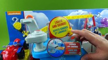 Paw Patrol Toys Sea Patroller Boat with Sea Patrol Ryder ATV Marshall Chase Skye Rubble Ve