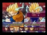 sangoku ssj2 vs vegeta ssj2 sparking meteor