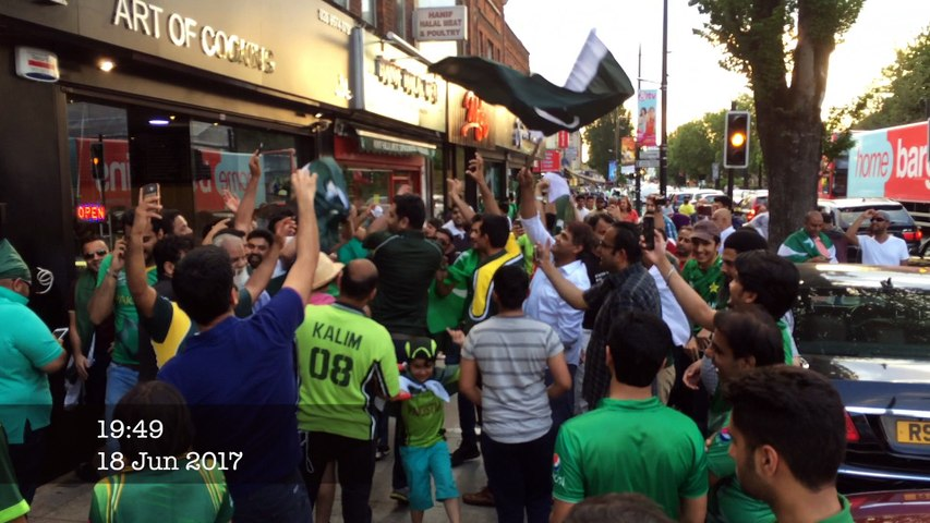 ICC Champions Trophy 2017 - Celebrations in London