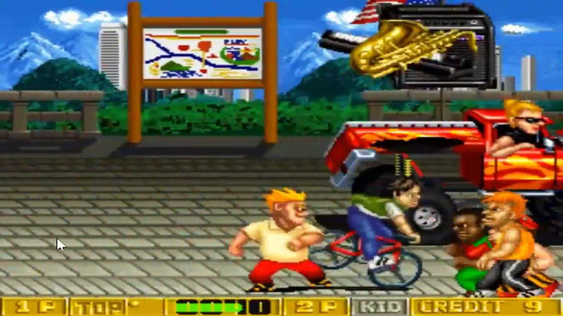 B Rap Boys (Arcade) - O Sucessor de DJ Boy - Retroview #1 - Nostalgia Jogos