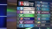 【NBA】2017 NBA Mock Draft Lakers Select Lonzo Ball