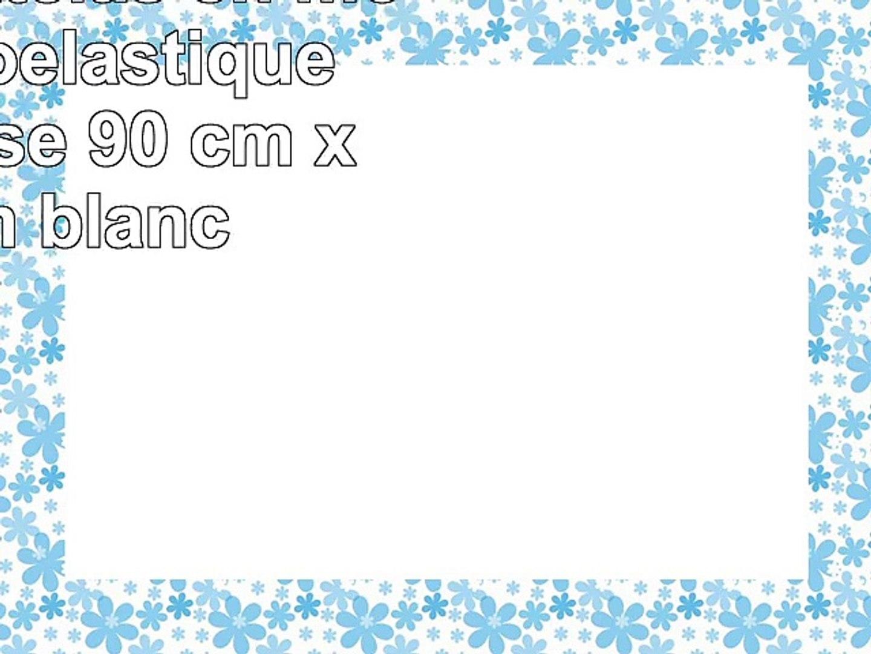 MSS Surmatelas en mousse viscoélastique sans housse 90 cm x 190 cm blanc