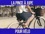 Cet accessoire va vous sauver si vous faites du vélo en jupe : pince à jupe
