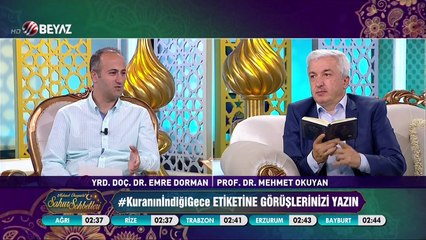Mehmet Okuyan'la Sahur Sohbetleri 22 Haziran 2017