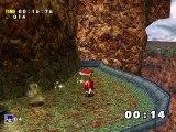 Sonic Adventure DX Mangatd mod 3 part 05 - Knuckles & Knuckles à Red mountain et Sky deck